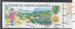 FRANCE 2021 - ORDRE DU MERITE AGRICOLE OBLITERE YT 5475 - Oblitérés