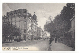 28508 - Genève Rue De Carouge Circulée 1919 - GE Geneva