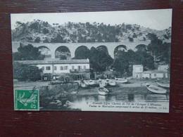 Carte Assez Rare , Nouvelle Ligne De Chemin De Fer De L'estaque à Miramas , Viaduc De Mauvallon Comprenant 6 Arches - Other Municipalities