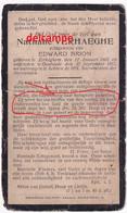 Oorlog Guerre Nathalie Verhaeghe Zerkegem Bombardement Te Oostende 27 September 1917 Brion Mariakerke Stene - Images Religieuses
