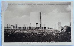 C. P. A. : 85 POUZAUGES : Moulin Du Puy Crapaud, Façade Ouest - Pouzauges