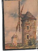 """Théme-Illustrateur """" BARDAY""""Nos Vieux Moulins A VENT-""""Bretagne-PONTCHATEAU """"-editeur BARRE-DAYEZ-N°2913-M - Barday"""