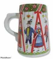 07871 Boccale In Ceramica - Boccale Di Birra Tedesco - Tazze