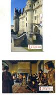 Château Et Parc De Langeais (Indre-et-Loire - France) - Lot De 2 Tickets Différents - Tickets - Vouchers