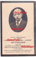 Oorlog Guerre Fernand Antheunis Geeraardsbergen Opgeroepen Soldaat Bombardement Te OOstende 27 Mei 1940 CONSCIENCESCHOOL - Images Religieuses