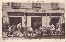 20 Bastia. Rue Du Nouveau Port. Bar Du Lion D'Or - Bastia