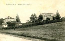 BRASSAC =   L'église Et Le Presbytère    2502 - Other Municipalities