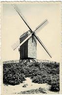 Coxyde S/Mer Le Vieux Moulin Circulée En 1955 - Koksijde