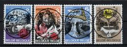 BELGIE: COB 1448/1451  Mooi Gestempeld. - Usati