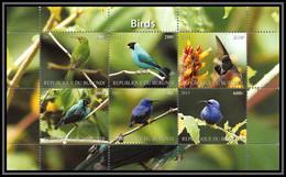 1122/ Bloc Oiseaux D'afrique (bird Birds Oiseau) Neuf ** MNH Tirage Privé Vignette 2011 - Konvolute & Serien