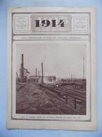 1914-1915 Illustré N° 59 Gare Lemberg - Balistique - Armée Suisse - Général Von Stoltzmann - Asile Veeweyde Anderlecht - 1900 - 1949