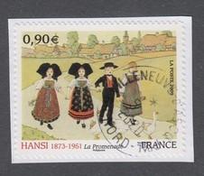 France - Timbre Autoadhésif Oblitéré - N°370 - Hansi - TB - Adhesive Stamps