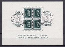 Deutsches Reich - 1937 - Michel Nr. Block 11 - Gestempelt - Oblitérés