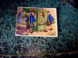 Vieux Papier Chromos   Chocolat Cantaloup- Catala & Meyer   N°6 La Chaise à Porteur - Otros
