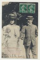 Carte Francisco FERRER (fusillé 13/10/1909) Avec Mme SOLEDAD VILLAFRANCA - Militaire - Patriotique - - Hommes Politiques & Militaires