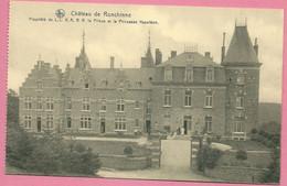 C.P. Ronchinne =  Château  Propriété De LL. AA. RR. Le Prince Et La Princesse  NAPOLEON - Assesse