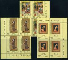 Turkey 1969 Mi 2138-2140 MNH [Block Of 4] RCD | Iran-Turkey-Pakistan, Regional Cooperation For Development - Unused Stamps