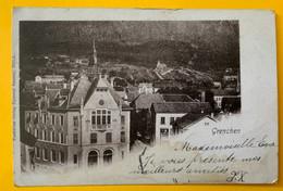 15177 - Grenchen Circulée Bözingen 15.10.1901 - SO Soleure