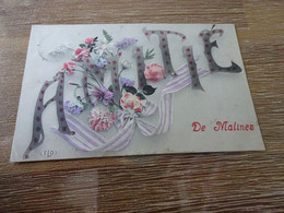 Mechelen:amitié De Malines - Mechelen