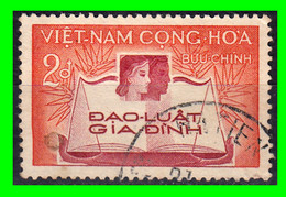 VIETNAM.-  ( DAN CHU CONG HOA - ASIA )  SELLO AÑO 1960  CODIGO FAMILIAR - Vietnam