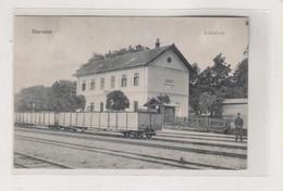 BOSNIA AND HERZEGOVINA DERVENTA  Postcard Train Station - Bosnie-Herzegovine