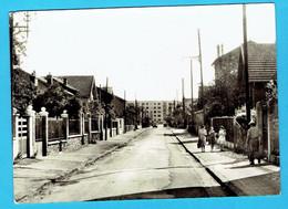 CPSM BOURG LA REINE - Rue Hoffmann - 92 Hauts De Seine - Bourg La Reine