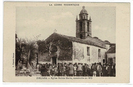 Ref: 21150 - CPA - Carte ZIGLIARA - église Sainte- Marie , Construite En 1678. Corse . - Andere
