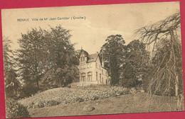 C.P. Ronse =  Villa  De Mr  JEAN  CAMBIER  (  Cruche ) - Renaix - Ronse