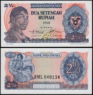 INDONESIEN - INDONESIA 2 1/2 RUPIAH 1968 Pick 103 UNC (1)   (14303 - Andere - Azië