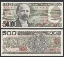 MEXIKO - MEXICO - 500 Pesos 1984 Serie EF Pick 79b Gutes VF (3)   (26463 - Andere - Amerika