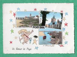 50 Manche Port Bail Port Bail Carte Postale Multivues - Autres Communes