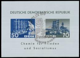 DDR BLOCK KLEINBOGEN Block 18 SB7FD7A - Blocks & Kleinbögen