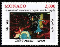 Monaco 2021 - CHPG Association De Bienfaisance Eugenio Benedetti Gaglio ** - Ongebruikt