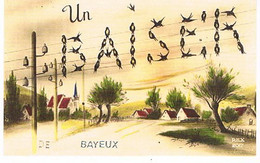 14  UN BAISER    DE  BAYEUX    CPM  TBE   821 - Bayeux