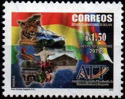 Bolivia 2015 ** CEFIBOL 2249 Autoridad Regulación Fiscalización Telecomunicaciones Transportes. Sagitario. - Bolivia