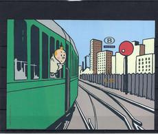 N°TRV-BL12ND Tintin MNH ** POSTFRIS ZONDER SCHARNIER COB € 150,00 SUPERBE - No Dentado