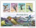 GUINEA BISSAU 2014 ** M/S Hummingbirds Kolibris Colibris Beija-flores A1448 - Kolibries
