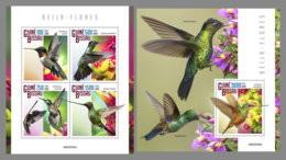 GUINEA BISSAU 2020 MNH Hummingbirds Kolibris Colibris M/S+S/S - OFFICIAL ISSUE - DHQ2033 - Kolibries