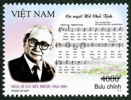 Vietnam Viet Nam MNH Perf, Imperf & Specimen Stamp 2021 : 100th Birth Ann. Of Luu Huu Phuoc, Musician / Music (Ms1148) - Vietnam