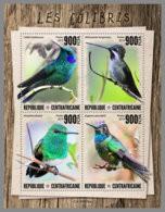 CENTRALAFRICA 2019 MNH Hummingbirds Kolibris Colibris M/S - OFFICIAL ISSUE - DH1947 - Kolibries