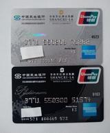 China, American Express,Shangri-La  (2pcs) - Credit Cards (Exp. Date Min. 10 Years)