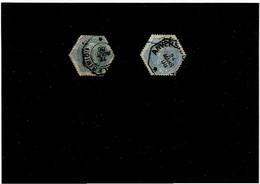 BELGIO ,francobolli Telegrafo ,2 Pezzi Usati ,qualita Discreta - Telégrafo