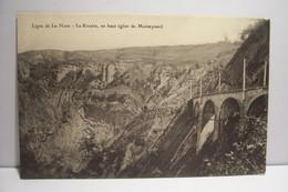 LIGNE DE LA MURE - LA RIVOIRE , En Haut Eglise De MONTEYNARD ( Défaut D'impression ) - Unclassified