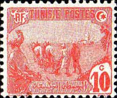 Tunisie Poste N** Yv: 32 Mi:33 Les Laboureurs Dent Courte - Ungebraucht