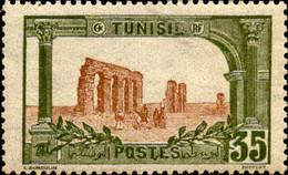 Tunisie Poste N** Yv: 37 Mi:38 Aqueduc Romain De Zaghouan - Ungebraucht
