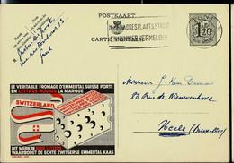 Publibel Obl. N° 1230 ( Fromages De Suisse - Emmental) Obl. GENT  1954 - Publibels