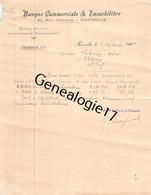 13 4422 MARSEILLE Bouches Du Rhone 1900 BANQUE COMMERCIALE ET IMMOBILIERE Rue Grignan Vente ENFANT TUBERCULEUX - Bank & Insurance