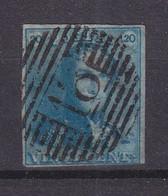 Belgique - COB 2 Oblitéré - Cachet 18 Binche  - Valeur 75 Euros - 1849 Epauletten
