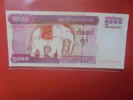 MYANMAR 5000 KYATS 2009 Circuler (B.24) - Myanmar