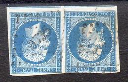 FRANCE ( OBLITERATION  LOSANGE ) : PC  3736   Sidi-Bel-Abbès (Oran)  .  A  SAISIR . - 1849-1876: Periodo Clásico